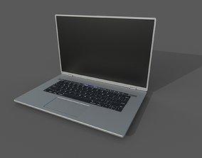 Generic Laptop Low Poly 3D asset