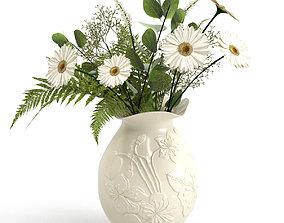 3D model Bouquet chamomile