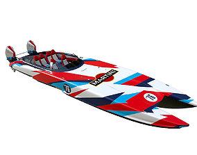3D Mystic Powerboat C3800 MARTINI