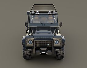 3D model Land Rover Defender 110 Custom v1