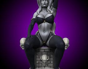 3D printable model Lady Death Statue
