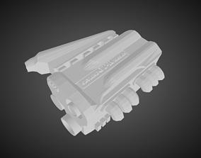Nissan RB16 Engine for Hotwheels 3D print model