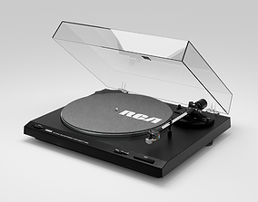 3D Yamaha TT-300 Record Player