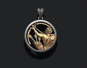Horoscope Sagittarius 3D printable model
