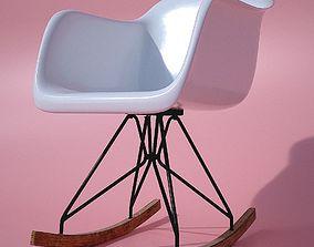 3D Modern Rocking Chair