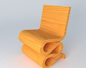 3D Wiggle Side Chaise