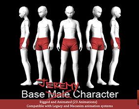 Jeremy - Base Male Character 3D asset