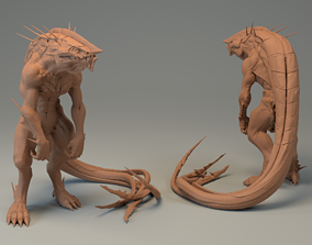 Khanivore - Love Death and Robots - 3D printable model