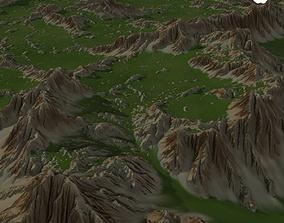 3D model Landscape 50