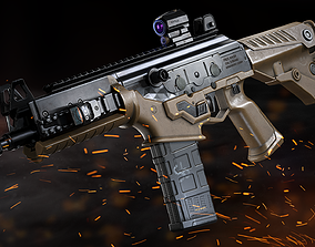 PMS naoK56 Assault Rifle - Model and Textures realtime