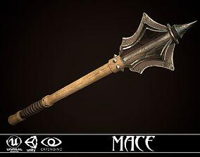 Mace 04 3D asset
