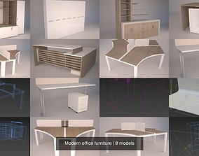 Modern office furniture 3D