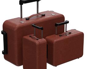 Suitcases 3D model