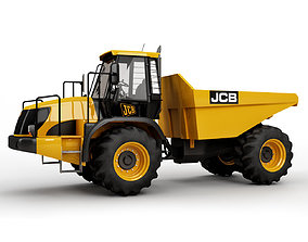 3D model Articulated Truck JCB 714