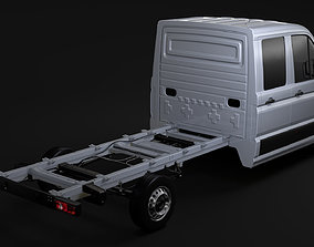 WV Crafter Chassi DoubleCab L2 2017 3D