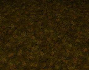 3D ground grass tile 19