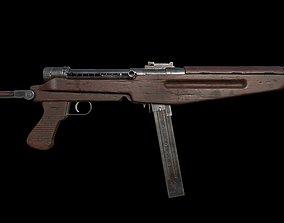 Low poly 43M Submachine gun 3D asset