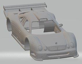 Mercedes Benz CLK GTR Printable Body Car