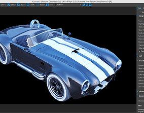 3D model rim Shelby Cobra