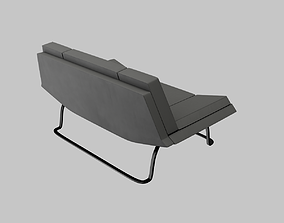 Sofa 02 HightPoly LowPoly 3D
