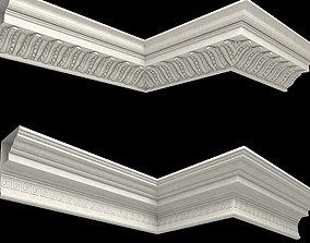 decor molding 01 3D