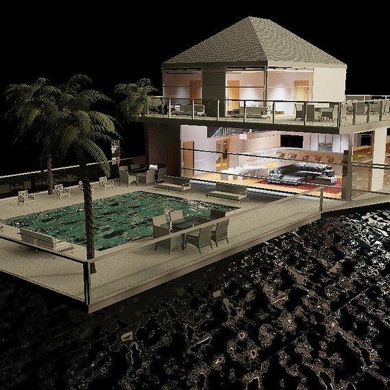 Floating/ Underwater house