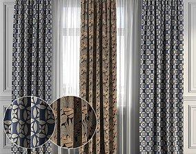 Curtain Set 121 3D