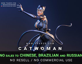 Catwoman Statue - 3D print collectibles