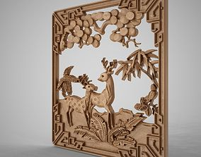 3D print model Gazelle Ornament