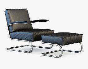 3D Thonet armchair S 411