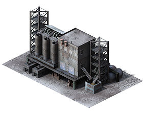 Future World - Industrial Zone 05 3D model