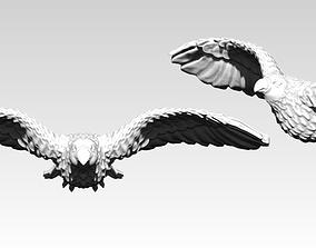 3D print model American Flying Bird Eagle Hawk Detailed