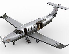 3D model Pilatus PC-12 NG