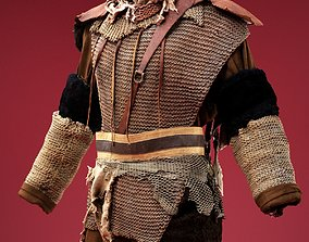 3D asset Soldier in Rags