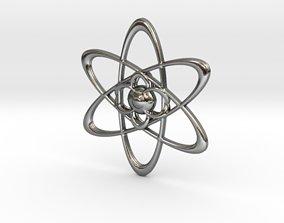 3D printable model Atomic Pendant
