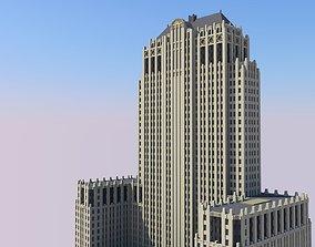 Civic Opera Building 3D printable model