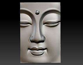 buddha face 3D print model