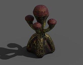 3D asset realtime Alien Flora