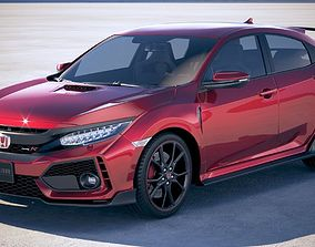 3D Honda Civic Type R 2018