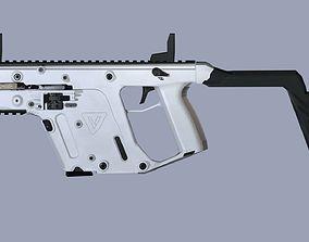 kriss vector 3D model realtime