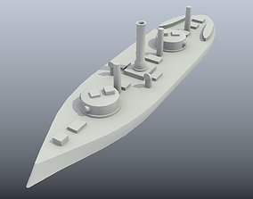 Brazilian Ironclad Silvado 3D print model
