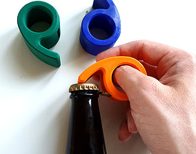 Bottle Opener Six 3D printable model