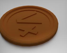 Vertex Coaster 3D print model