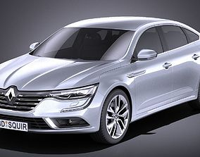 3D Renault Talisman 2018 VRAY