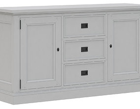 3D model Dantone Home Oxford drawer