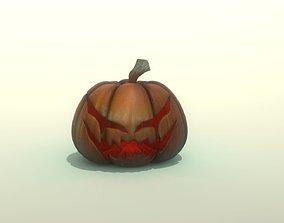 Pumpkin 3D asset game-ready
