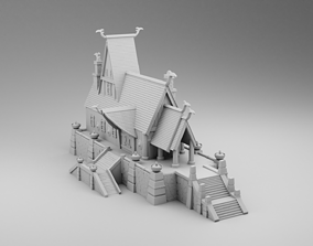 3D print model The house leader of the Vikings cold