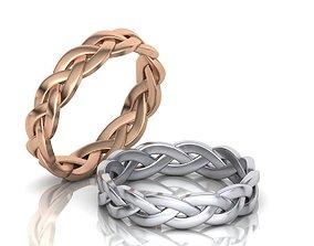 braided-rings 3D print model Braided Ring