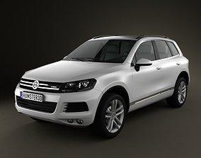 Volkswagen Touareg hybrid 2010 3D model