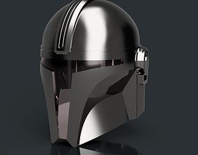 3D print model V3 Mandalorian helmet Star Wars